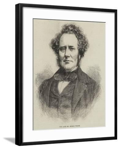 The Late Mr George Wilson--Framed Art Print
