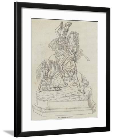 The Anglesey Testimonial--Framed Art Print