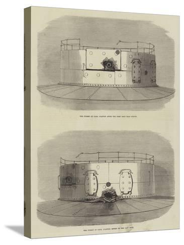The Turret of HMS Glatton--Stretched Canvas Print