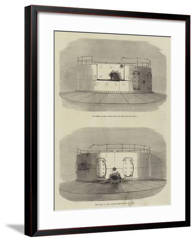 The Turret of HMS Glatton--Framed Art Print