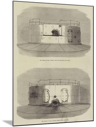 The Turret of HMS Glatton--Mounted Giclee Print