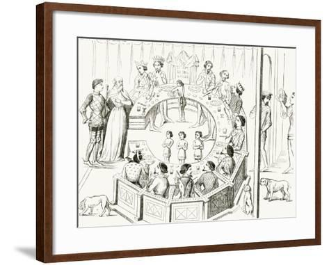 Knights of the Round Table--Framed Art Print