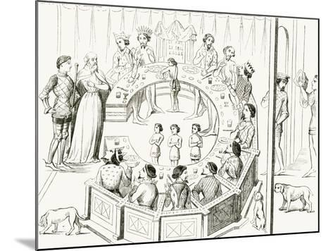 Knights of the Round Table--Mounted Giclee Print