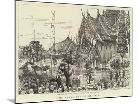 The Royal Family of Siam--Mounted Giclee Print