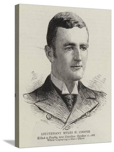 Lieutenant Myles H Cooper--Stretched Canvas Print