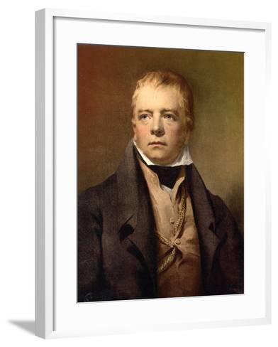 Sir Walter Scott, C.1895--Framed Art Print