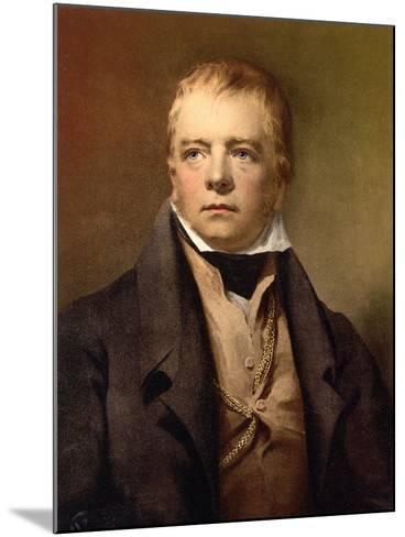 Sir Walter Scott, C.1895--Mounted Giclee Print