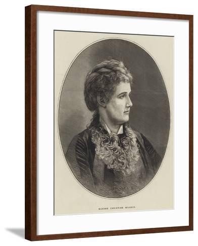 Madame Christine Nilsson--Framed Art Print