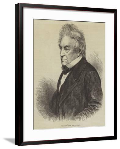 The Late Lord Wen-Leydale--Framed Art Print