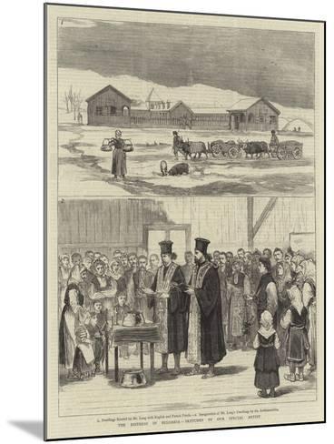 The Distress in Bulgaria--Mounted Giclee Print