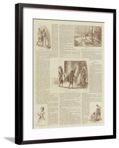 My Lady Phoebe's Wooing--Framed Art Print