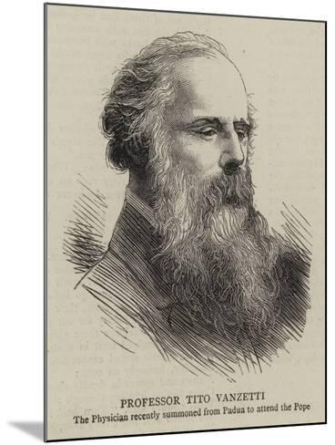 Professor Tito Vanzetti--Mounted Giclee Print