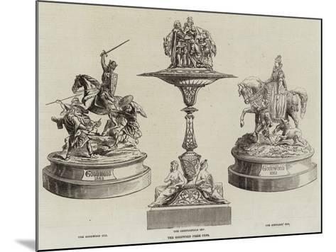 The Goodwood Prize Cups--Mounted Giclee Print