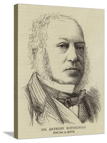 Sir Anthony Rothschild--Stretched Canvas Print