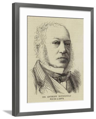 Sir Anthony Rothschild--Framed Art Print