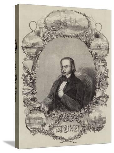 Isambard Kingdom Brunel--Stretched Canvas Print