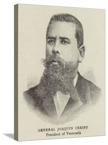 General Joaquin Crespo--Stretched Canvas Print