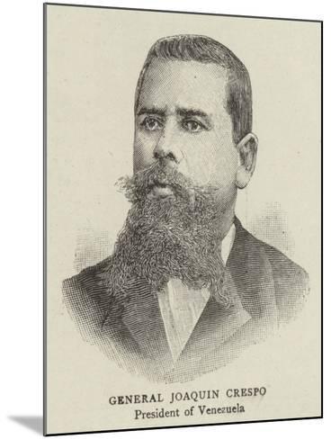 General Joaquin Crespo--Mounted Giclee Print