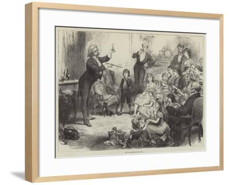 The Christmas Conjuror--Framed Art Print