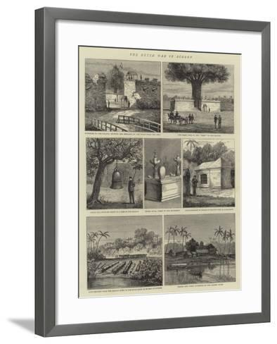 The Dutch War in Acheen--Framed Art Print