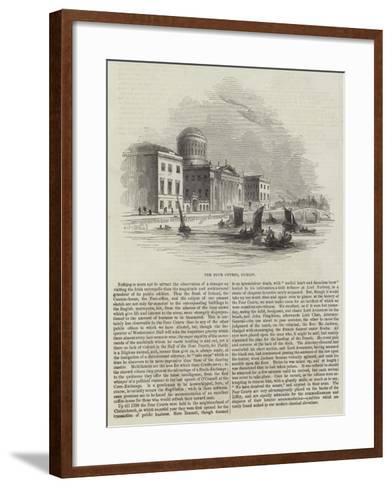 The Four Courts, Dublin--Framed Art Print