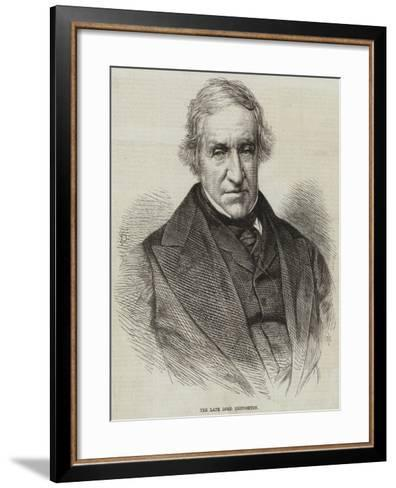 The Late Lord Broughton--Framed Art Print