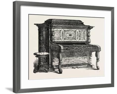 Papier Mache Pianoforte--Framed Art Print