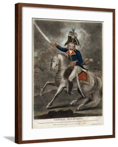 General Bonaparte, 1800--Framed Art Print