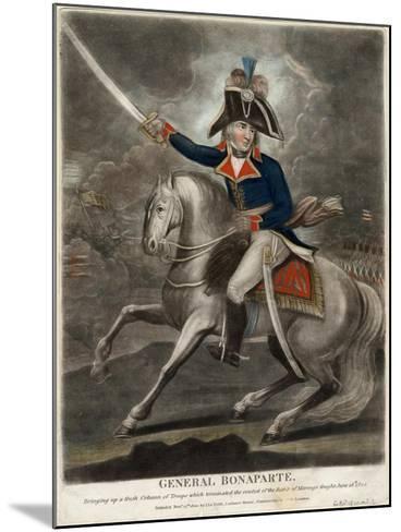 General Bonaparte, 1800--Mounted Giclee Print
