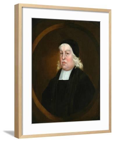 Reverend Richard Baxter--Framed Art Print
