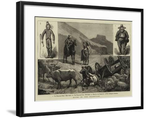Notes in the Transvaal--Framed Art Print