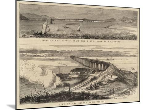 The Tay Bridge Disaster--Mounted Giclee Print