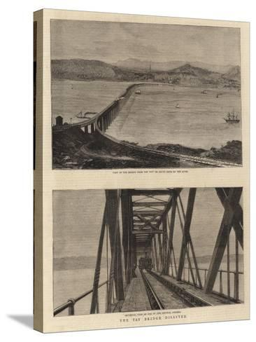 The Tay Bridge Disaster--Stretched Canvas Print