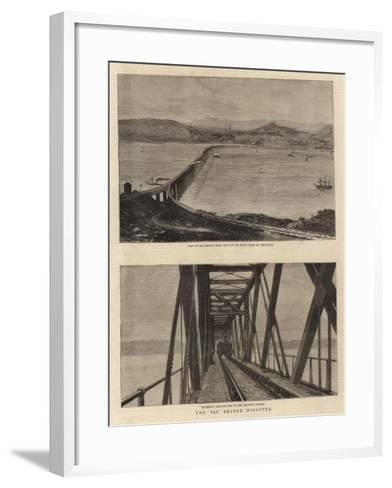 The Tay Bridge Disaster--Framed Art Print