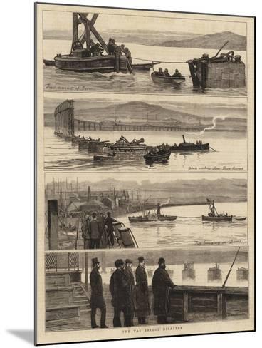 The Tay Bridge Disaster--Mounted Giclee Print
