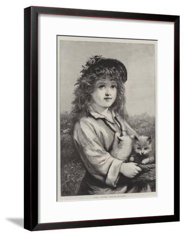 The Young Foster-Mother--Framed Art Print