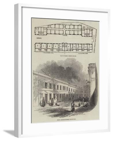 Model Lodging-Houses--Framed Art Print