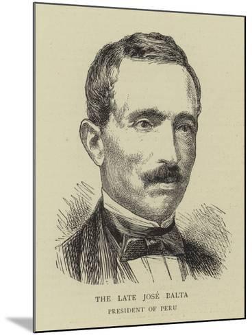 The Late Jose Balta--Mounted Giclee Print