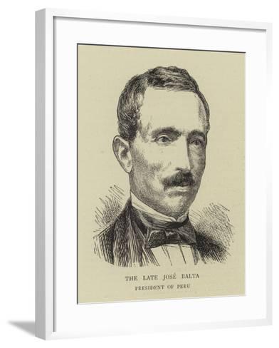 The Late Jose Balta--Framed Art Print