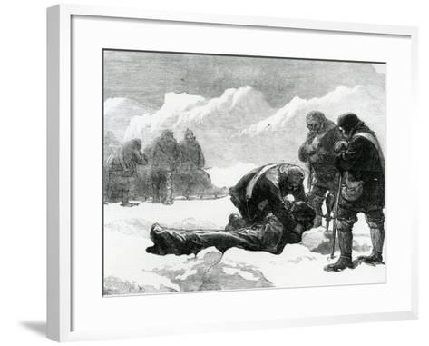 A Funeral in the Ice--Framed Art Print