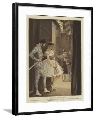 Afterwards Columbine--Framed Art Print