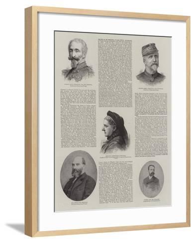 The House of Orleans--Framed Art Print