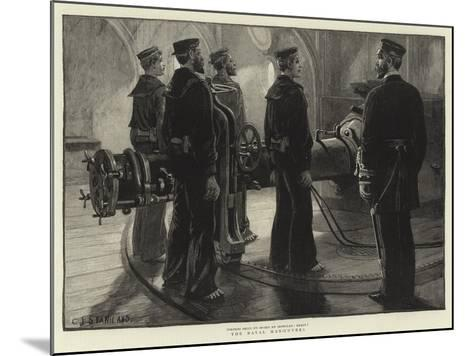 The Naval Manoeuvres--Mounted Giclee Print