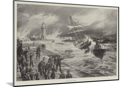 Saved from the Storm--Mounted Giclee Print