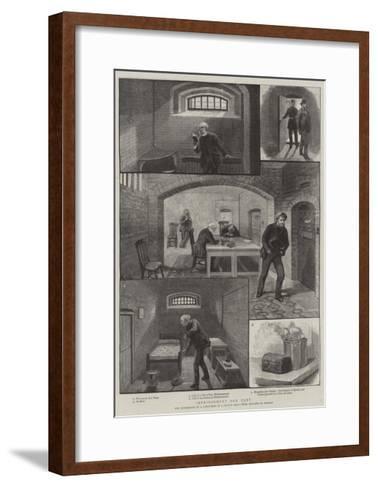 Imprisonment for Debt--Framed Art Print
