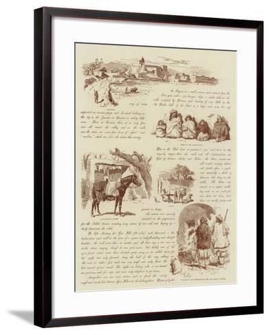 From Quetta to Kelat--Framed Art Print