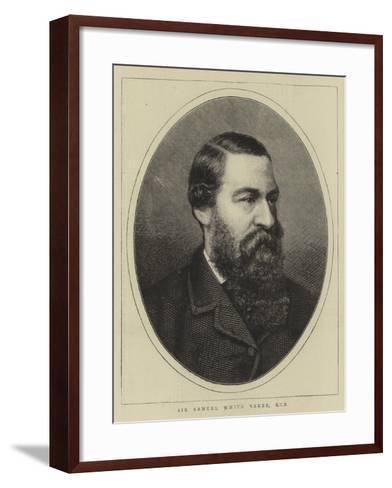 Sir Samuel White Baker--Framed Art Print