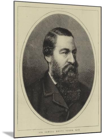 Sir Samuel White Baker--Mounted Giclee Print