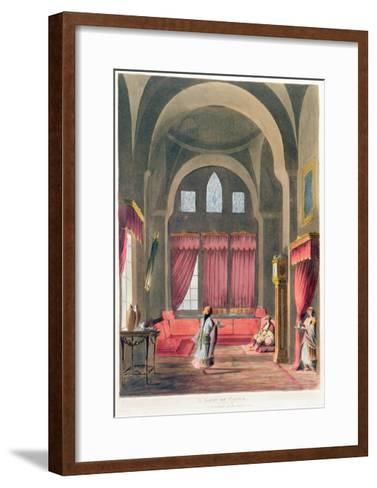 A Lady in Cairo, 1802--Framed Art Print