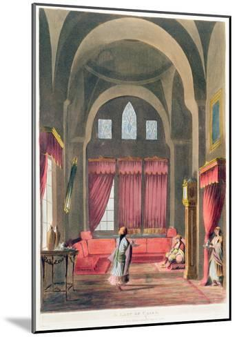 A Lady in Cairo, 1802--Mounted Giclee Print